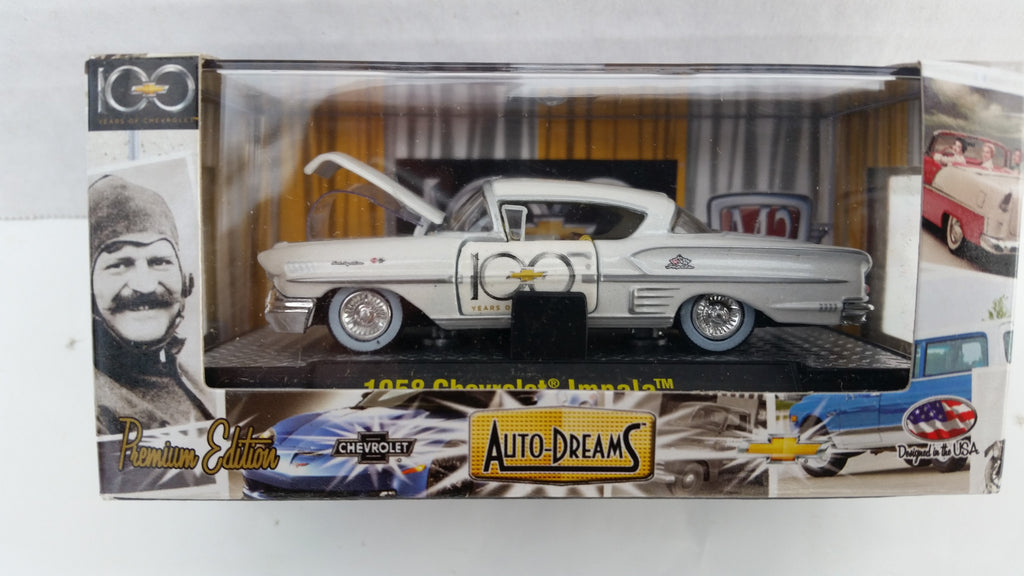 M2 Machines Auto-Dreams, Chevrolet 100th Anniversary, Release 2, 1958 Chevrolet Impala