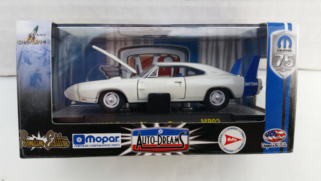 M2 Machines Auto-Dreams, Mopar 75th Anniversary, Release 2, 1969 Dodge Charger Daytona