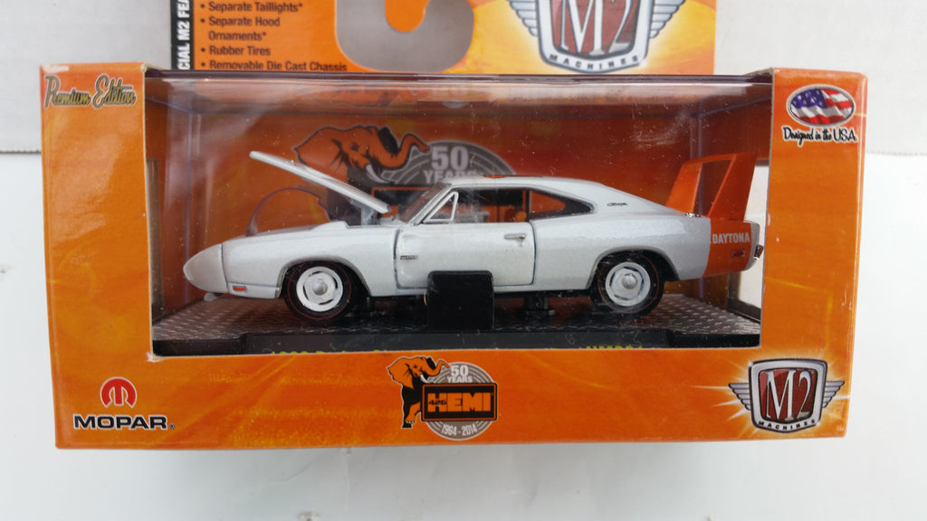 M2 Machines Hemi 50th Anniversary, Release 1, 1969 Dodge Charger Daytona HEMI, Walmart Exclusive