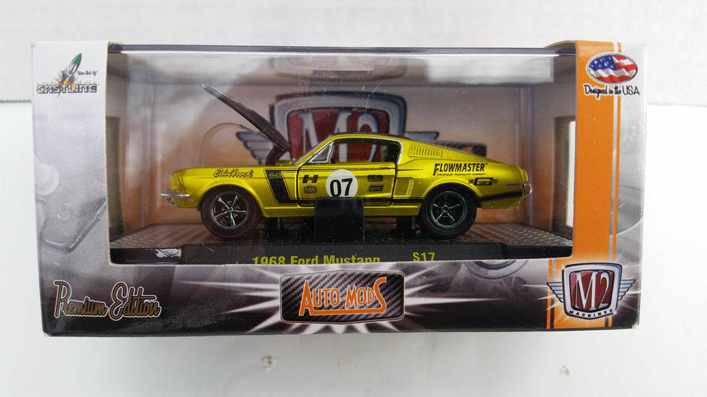 M2 Machines Auto-Mods, Hobby Only, 1968 Ford Mustang, Green