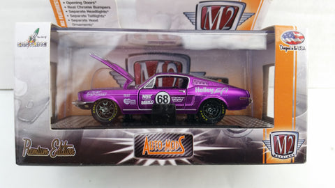 M2 Machines Auto-Mods, Hobby Only, 1968 Ford Mustang, Purple