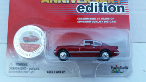 Johnny Lightning 10th Anniversary Edition, '54 Corvette Corvair
