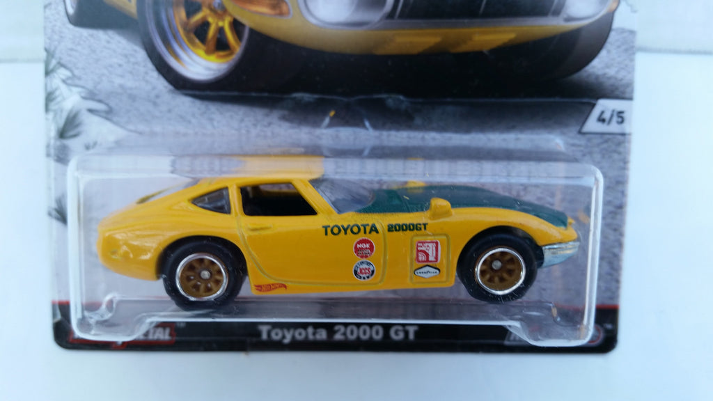 Hot Wheels Car Culture, Japan Historics, Toyota 2000 GT