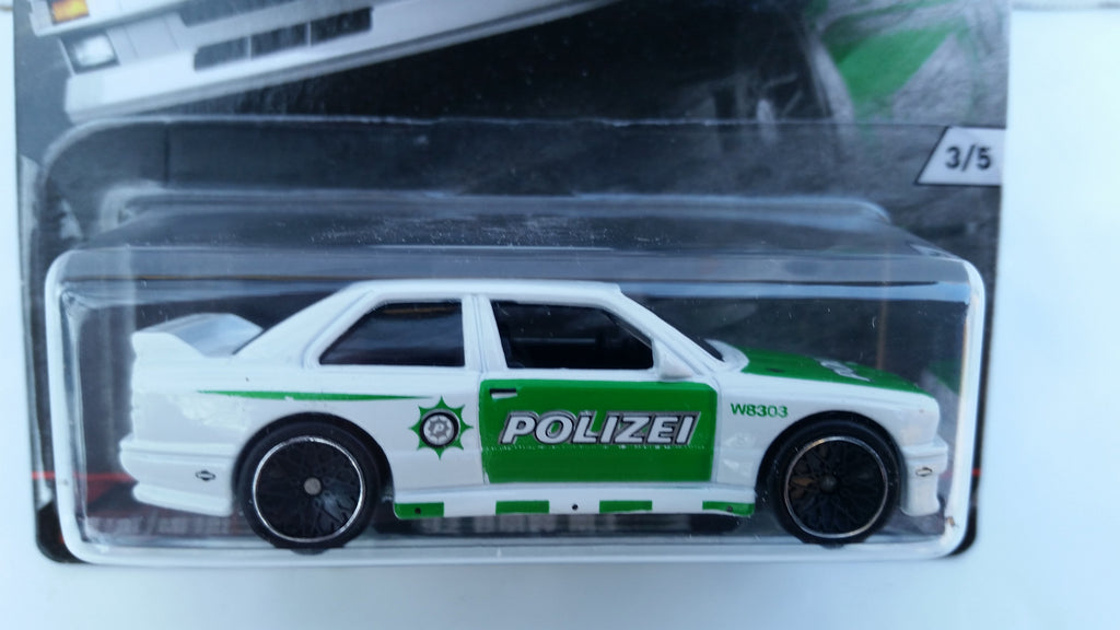 Hot Wheels Car Culture, Euro Style, '92 BMW M3