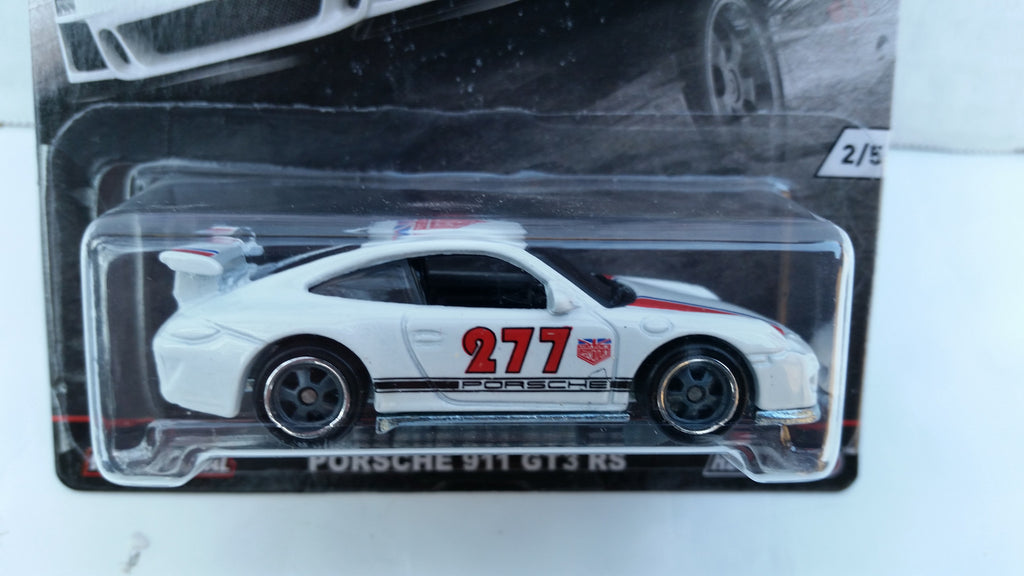 Hot Wheels Car Culture, Euro Style, Porsche 911 GT3 RS