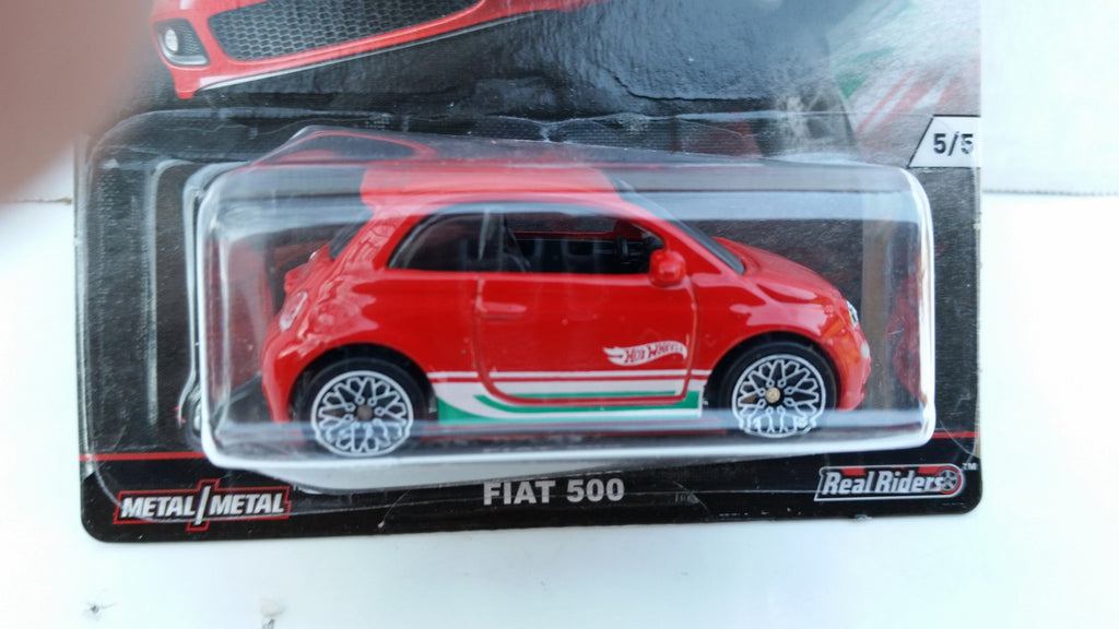 Hot Wheels Car Culture, Euro Style, Fiat 500