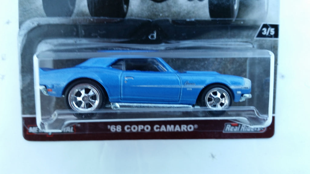 Hot Wheels Car Culture, HW Redliners, '68 Copo Camaro