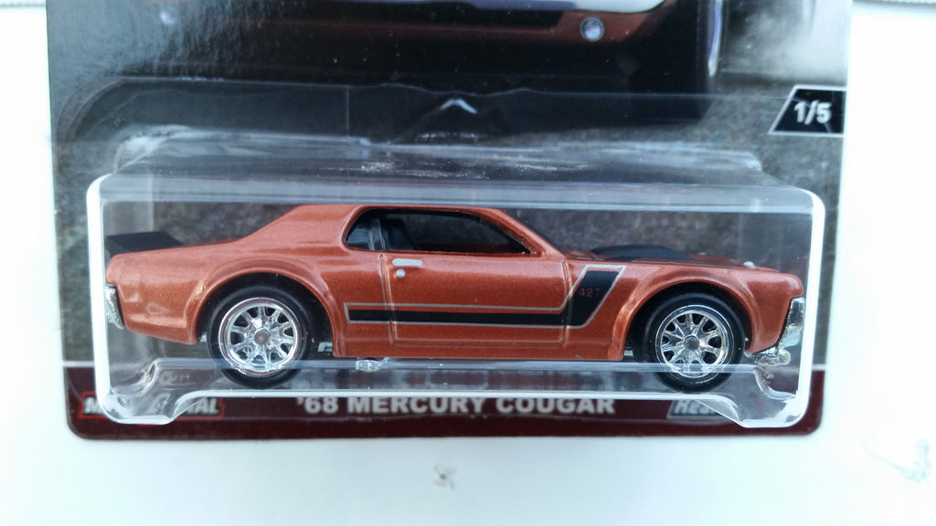 Hot Wheels Car Culture, HW Redliners, '68 Mercury Cougar