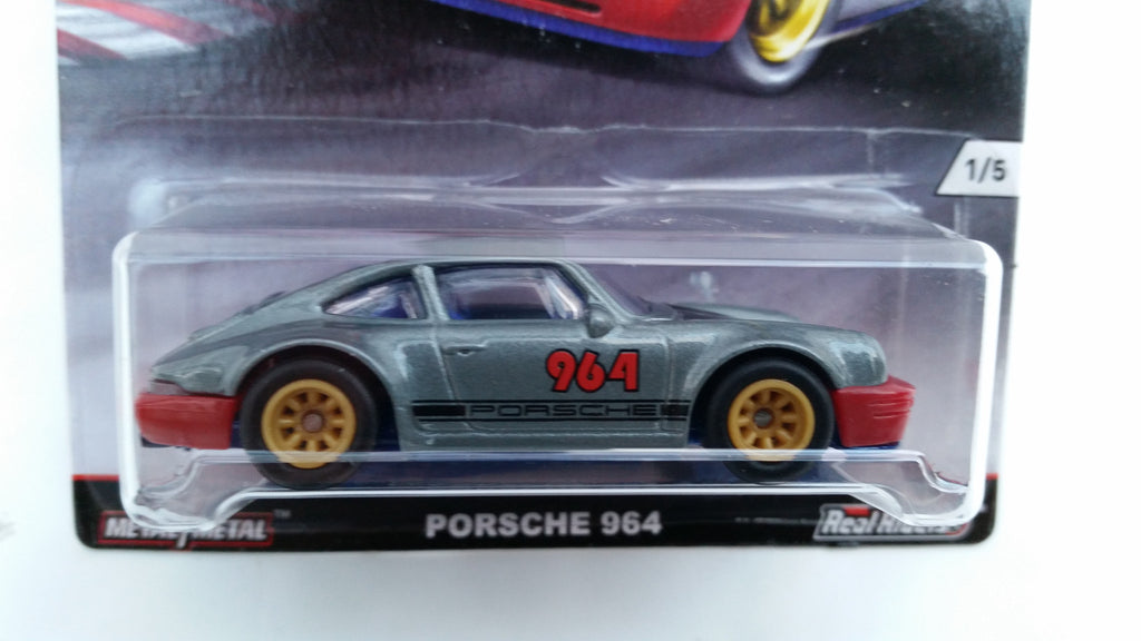 Hot Wheels Car Culture, Track Day, Porsche 964