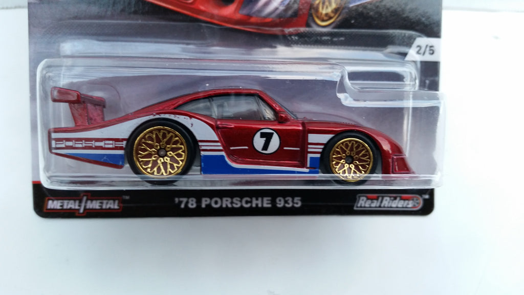 Hot Wheels Car Culture, Track Day, '78 Porsche 935