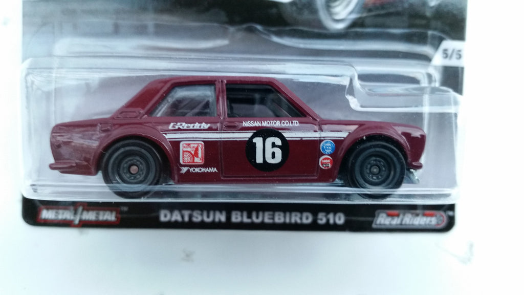 Hot Wheels Car Culture, Track Day, Datsun Bluebird S10