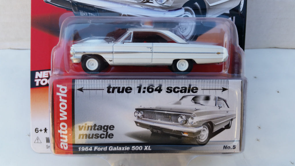 Autoworld Premium, Release 5A, 1964 Ford Galaxie 500 XL