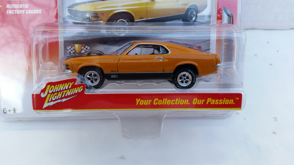 Johnny Lightning Muscle Cars 2016, Release 1A, 1970 Ford Mustang Mach 1