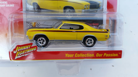Johnny Lightning Muscle Cars 2016, Release 1A, 1971 Buick GSX