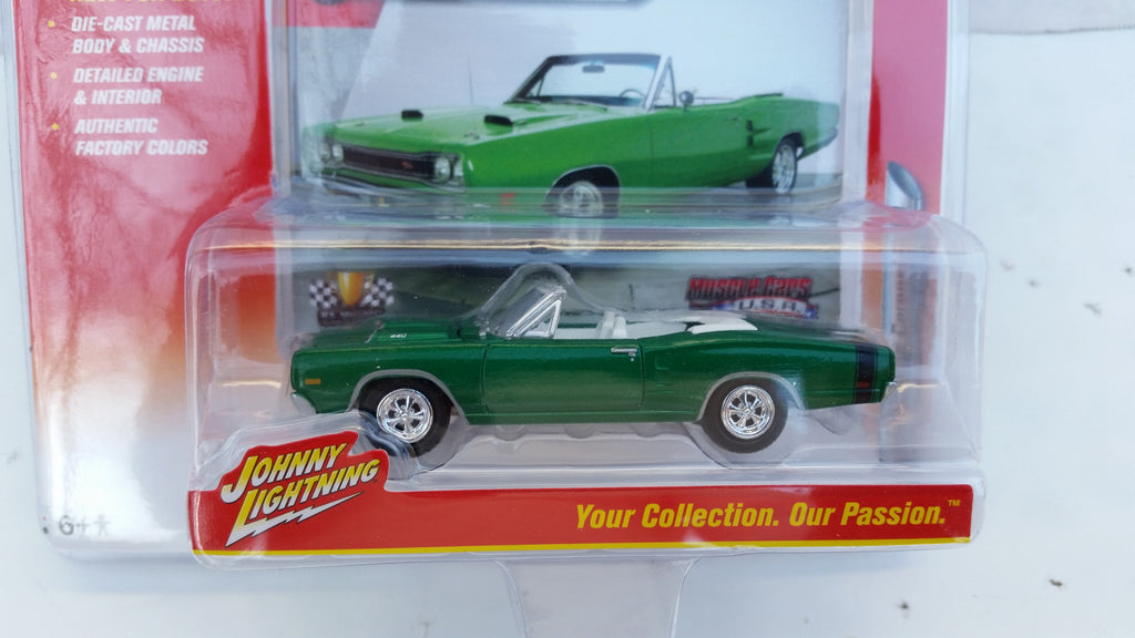 Johnny Lightning Muscle Cars 2016, Release 1A, 1969 Dodge Coronet R/T
