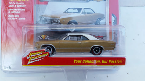 Johnny Lightning Muscle Cars 2016, Release 1A, 1967 Chevy Chevelle Malibu