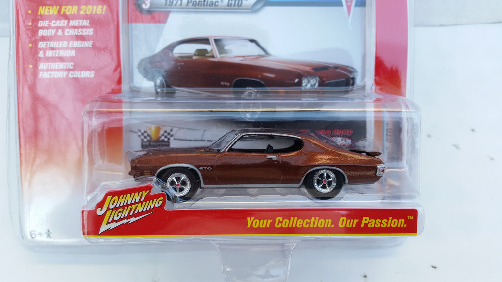 Johnny Lightning Muscle Cars 2016, Release 1A, 1971 Pontiac GTO