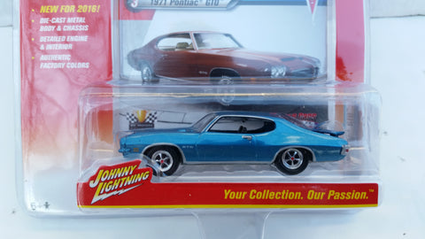 Johnny Lightning Muscle Cars 2016, Release 1B, 1971 Pontiac GTO