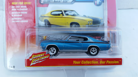 Johnny Lightning Muscle Cars 2016, Release 1B, 1971 Buick GSX