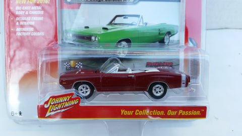 Johnny Lightning Muscle Cars 2016, Release 1B, 1969 Dodge Coronet R/T