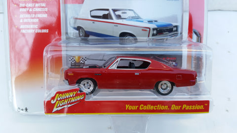 Johnny Lightning Muscle Cars 2016, Release 1B, 1970 AMC Rebel Machine