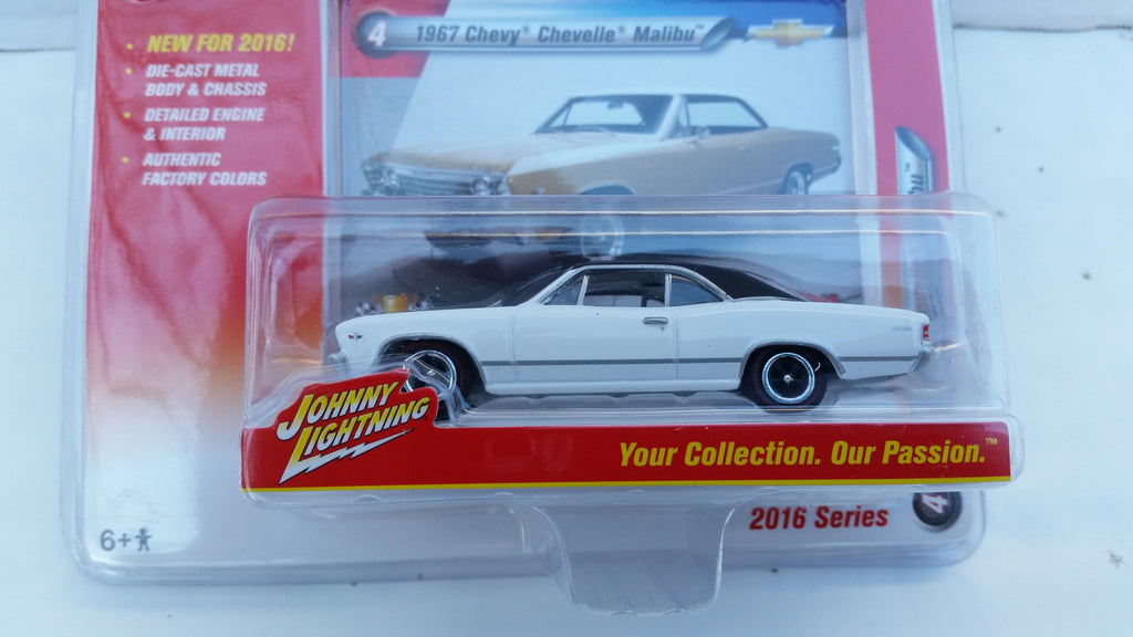 Johnny Lightning Muscle Cars 2016, Release 1B, 1967 Chevy Chevelle Malibu