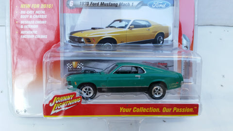 Johnny Lightning Muscle Cars 2016, Release 1B, 1970 Ford Mustang Mach 1