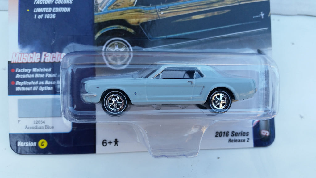 Johnny Lightning Muscle Cars 2016, Release 2C, 1965 Ford Mustang