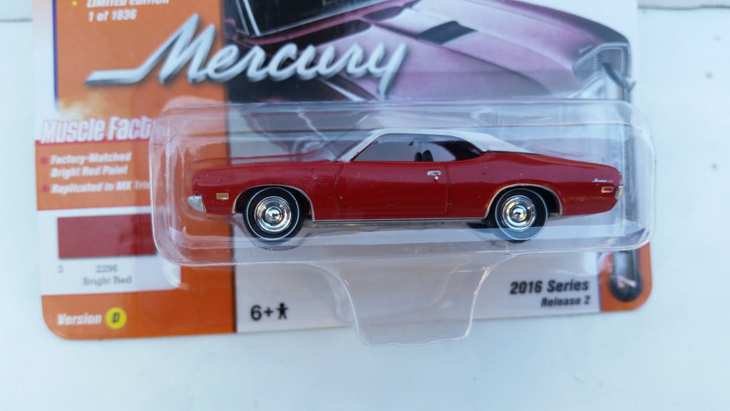 Johnny Lightning Muscle Cars 2016, Release 2D, 1971 Mercury Montego