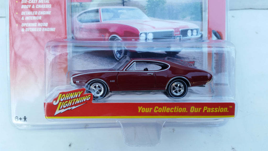 Johnny Lightning Muscle Cars 2016, Release 2A, 1969 Olds Cutalss 442