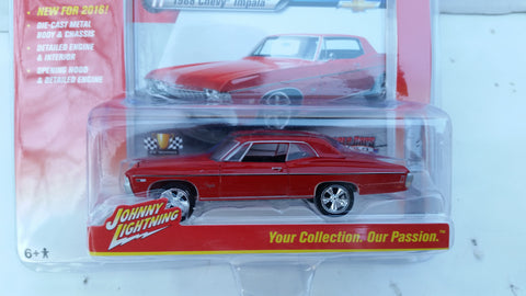 Johnny Lightning Muscle Cars 2016, Release 2A, 1968 Chevy Impala