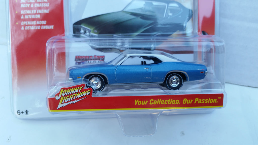 Johnny Lightning Muscle Cars 2016, Release 2B, 1971 Mercury Montego