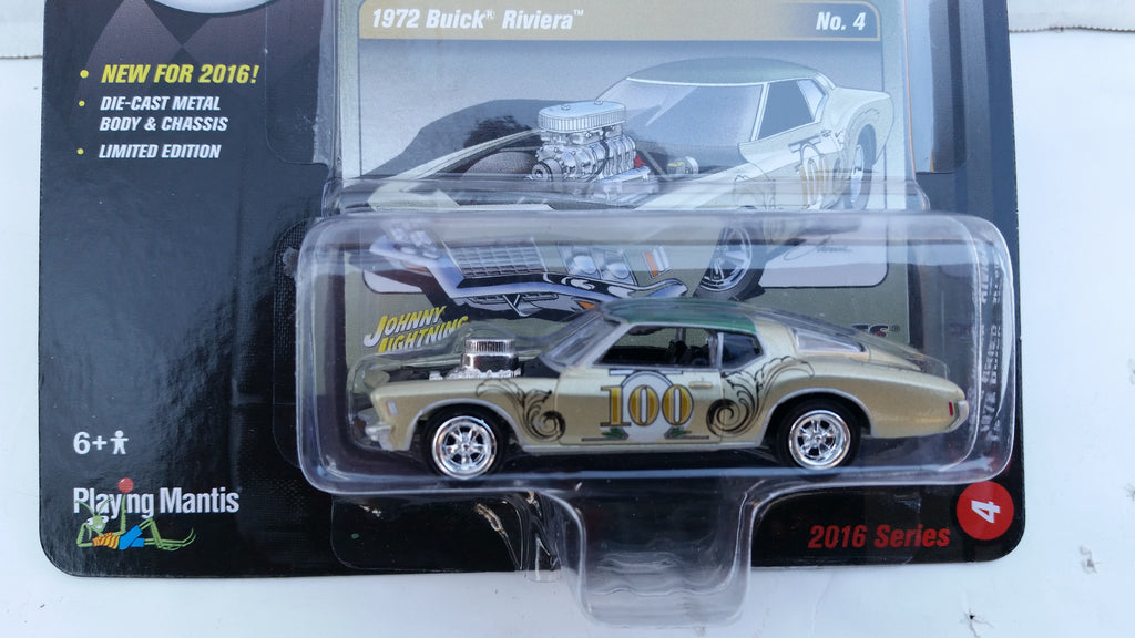 Johnny Lightning Street Freaks 2016, Release 1A, 1972 Buick Riveria, The Spoilers