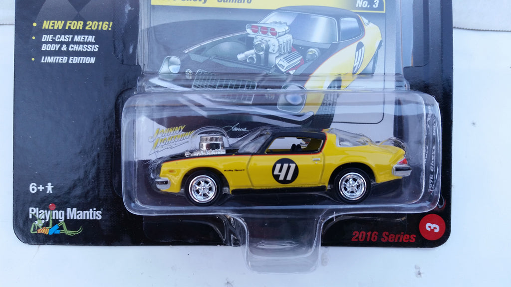 Johnny Lightning Street Freaks 2016, Release 1B, 1976 Chevy Camaro, The Spoilers