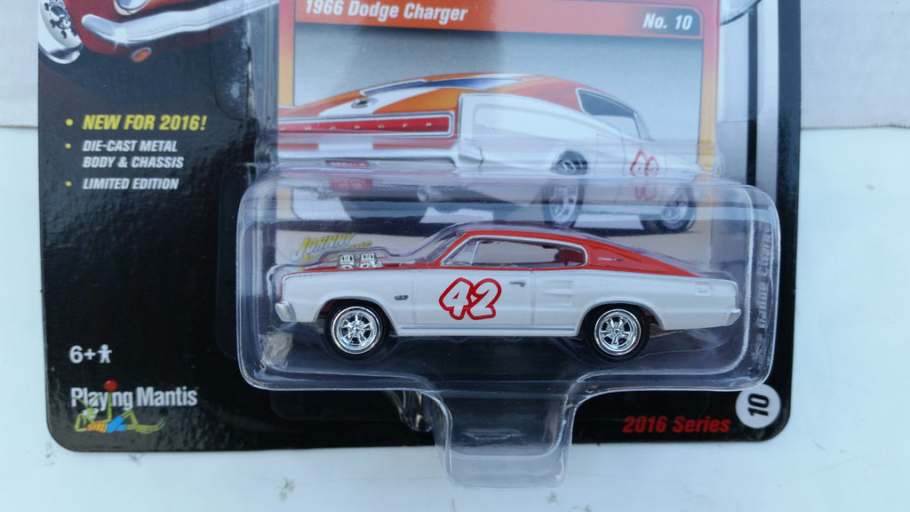 Johnny Lightning Street Freaks 2016, Release 2B, 1966 Dodge Charger, The Spoilers