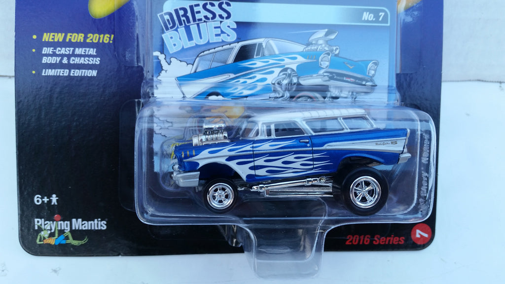 Johnny Lightning Street Freaks 2016, Release 2B, 1957 Chevy Nomad, Zingers