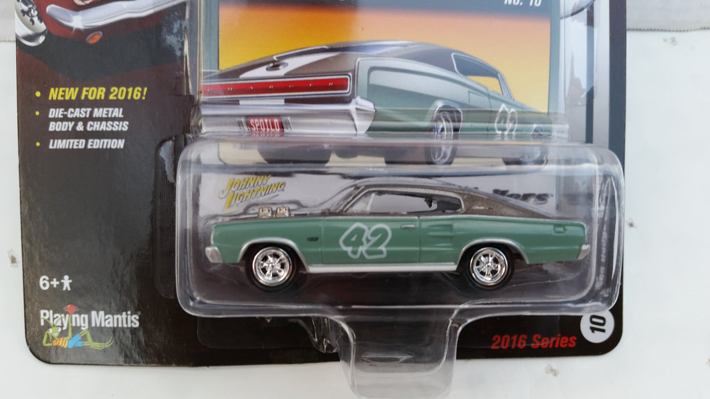 Johnny Lightning Street Freaks 2016, Release 2C, 1966 Dodge Charger, The Spoilers