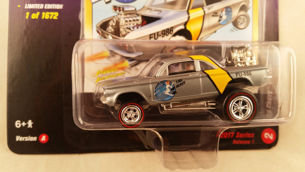 Johnny Lightning Street Freaks 2017, Release 1A, 1962 Chevy Corvair, Zingers