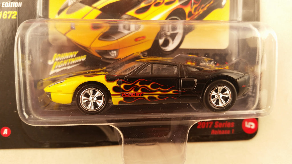 Johnny Lightning Street Freaks 2017, Release 1A, 2005 Ford GT