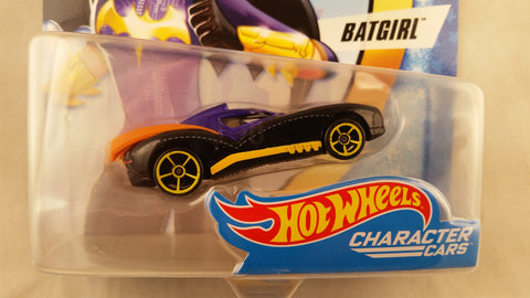 Hot Wheels DC Superheros Girls, Batgirl, Damaged Card