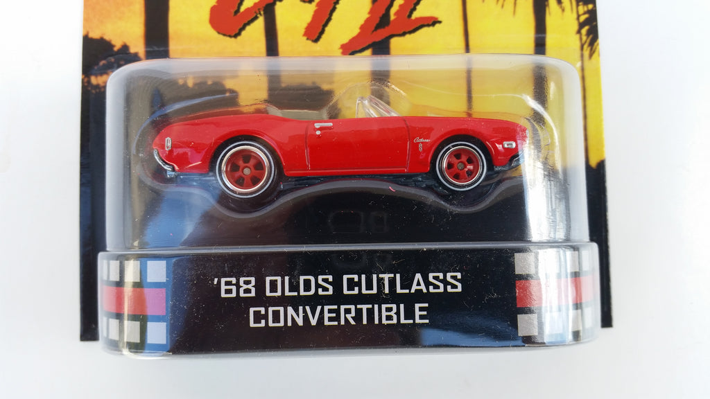 Hot Wheels Retro Entertainment 2013, Beverly Hills Cop II '68 Olds Cutlass Convertible