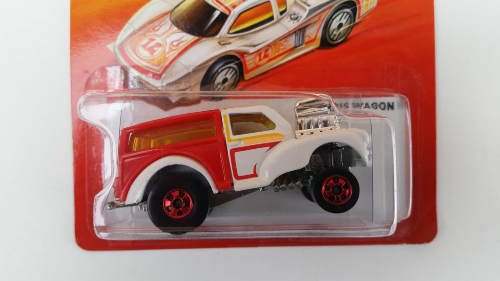 Hot Wheels Hot Ones Morris Wagon - White/Red