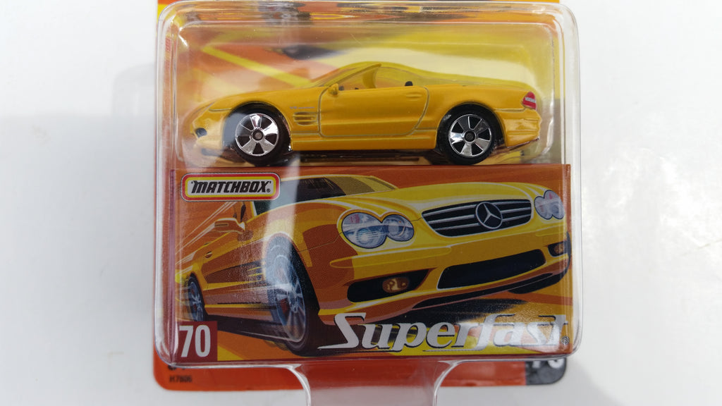 Matchbox Superfast 2005 USA, #70 Mercedes-Benz SL55 AMG