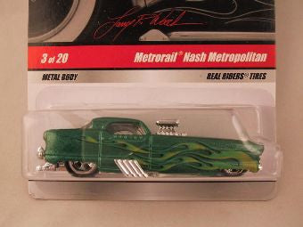 Hot Wheels Larry's Garage 2009, Metrorail Nash Metropolitan, Green