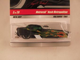 Hot Wheels Larry's Garage 2009, Metrorail Nash Metropolitan, Black