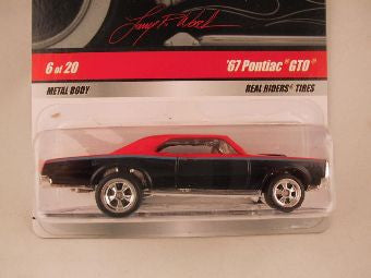 Hot Wheels Larry's Garage 2009, '67 Pontiac GTO, Red/Black