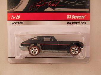 Hot Wheels Larry's Garage 2009, '63 Corvette, Black