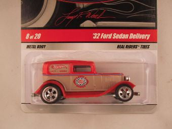 Hot Wheels Larry's Garage 2009, '32 Ford Sedan Delivery, Red
