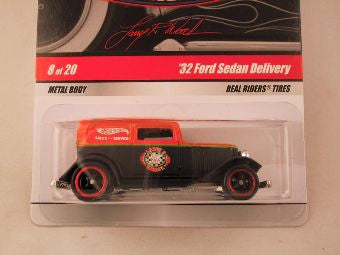 Hot Wheels Larry's Garage 2009, '32 Ford Sedan Delivery, Orange/Black