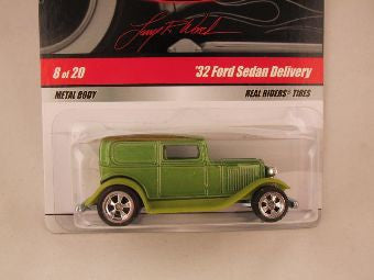 Hot Wheels Larry's Garage 2009, '32 Ford Sedan Delivery, Green